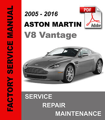 # OFFICIAL WORKSHOP Repair MANUAL for ASTON MARTIN V8 VANTAGE 2005-2016 #