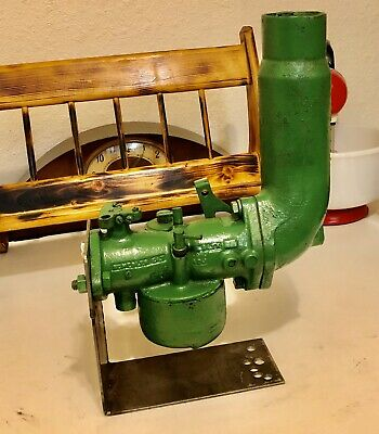 Vintage John Deere Tractor Carburetor Dlt Dltx Cast Iron Air Cleaner Abg