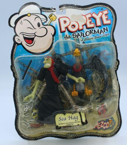 "Mezco Popeye Series 2 SEA HAG 5"" Action Figure MOC 2001"