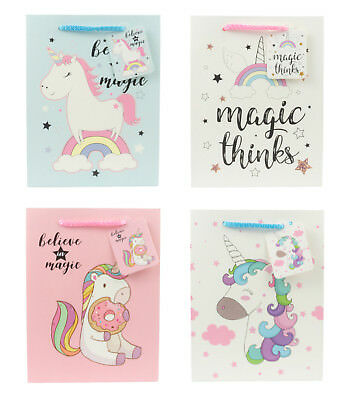 Gift Bag Magical Baby Unicorn Series for Birthday, Baby Shower, Parties, Events](Baby Gift Bags)