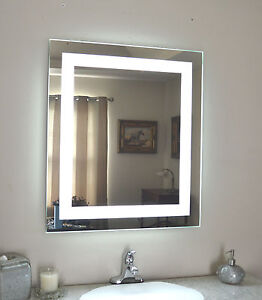 lighted vanity mirror make up wall mounted led bath mirror mam82832 28