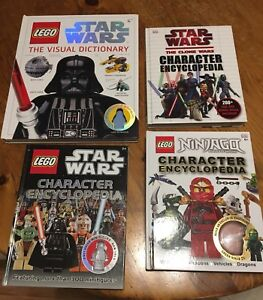 Collectible LEGO Star Wars books