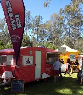 Ice Cream Van Business for sale FABULOUS RETRO FOOD VAN Wangaratta Wangaratta Area Preview