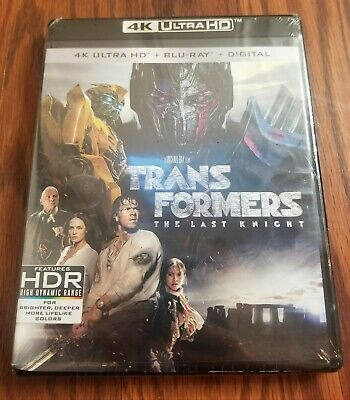 Transformers The Last Knight 4K + Blu-ray + Digital Copy Brand New Sealed