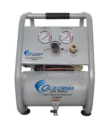California Air Tools 1p1060sp Light Quiet Air Compressor - Used