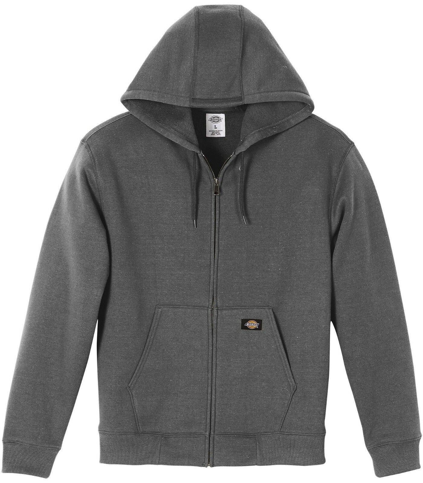 Dickies TW391 Midweight Fleece Full-Zip Hoodie, Various Colors & Sizes Clothing, Shoes & Accessories