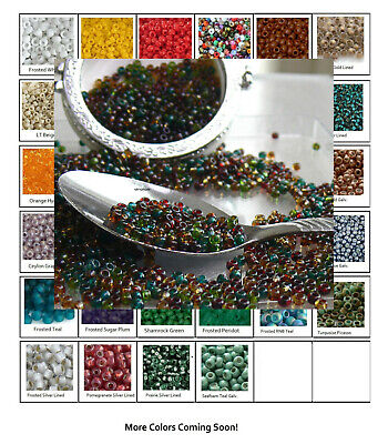 8//0 Round TOHO Japan Glass Seed Beads # 108BD-Trans-Lustered Teal 10 grams