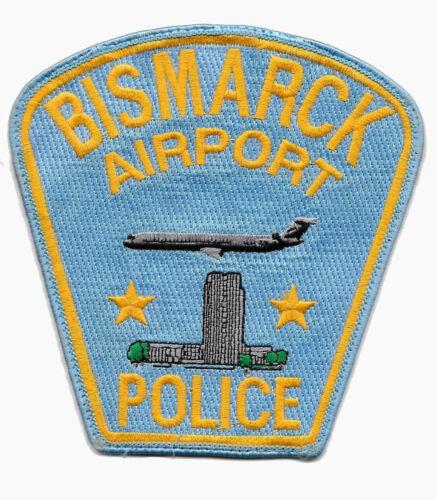POLICE PATCH NORTH DAKOTA BISMARCK AIRPORT STATE CAPITOL BUILDING SHERIFF JET
