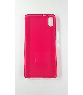 Cover gel TPU case protective silicone for BQ Aquaris X5 Plus Red