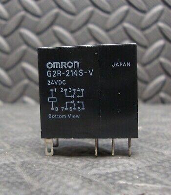 New Omron G2r-214s-v 24 Volt Relay