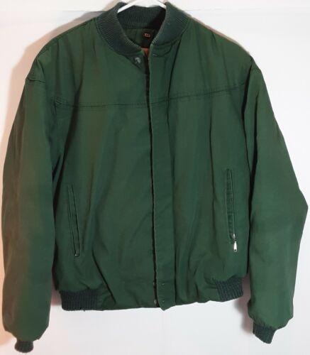 Vtg The Original Varsity by Catalina Green Full Zip USA Made Derby Coat Sz 42!