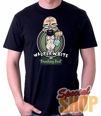 CAMISETA WALTER WHITE-BREAKING BAD-COMIC-FUNNY  T-SHIRT CHICO/A/TIRANTES/NIÑO