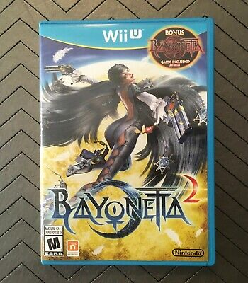 Bayonetta 2  Wii U, RARE 2-disc edition includes Bayonetta! LIKE NEW!