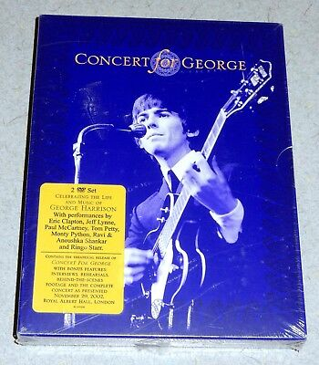 NEW Concert for George Harrison 2 DVD Set * Oops Publishing Limited