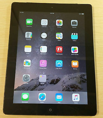 Apple iPad 3rd Generation 16GB, Wi-Fi + 4G Unlocked (AT&T), 9.7in - Black