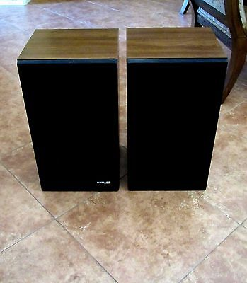 Vintage Pioneer HPM-40 Vintage 70's Classic 3-Way Stereo Speakers - Pair