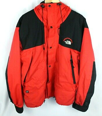 Vintage The North Face Expedition System Gore Tex Red Jacket Size (Gore Tex Systems)