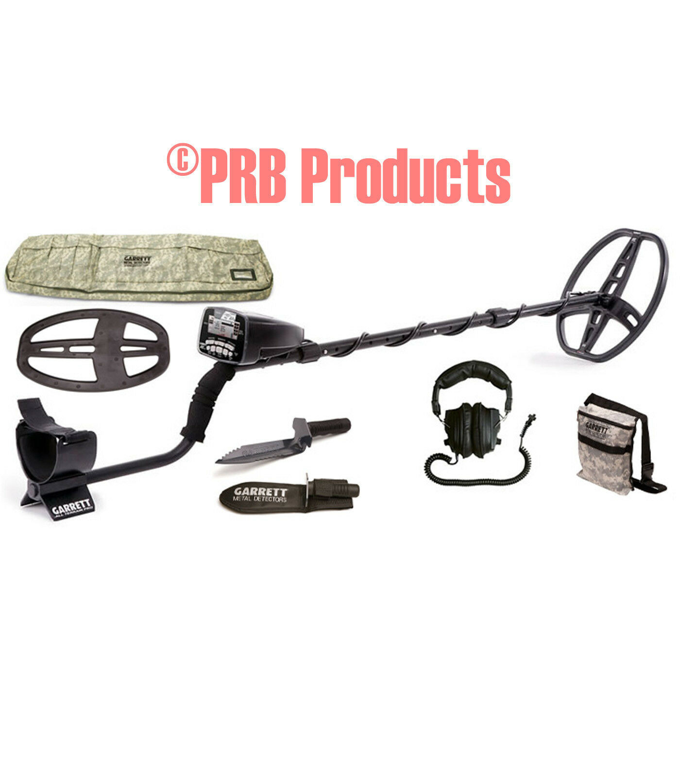 1140462 Garrett AT Pro Adventure Pack Metal Detector Beach Fresh Water Hunt coin