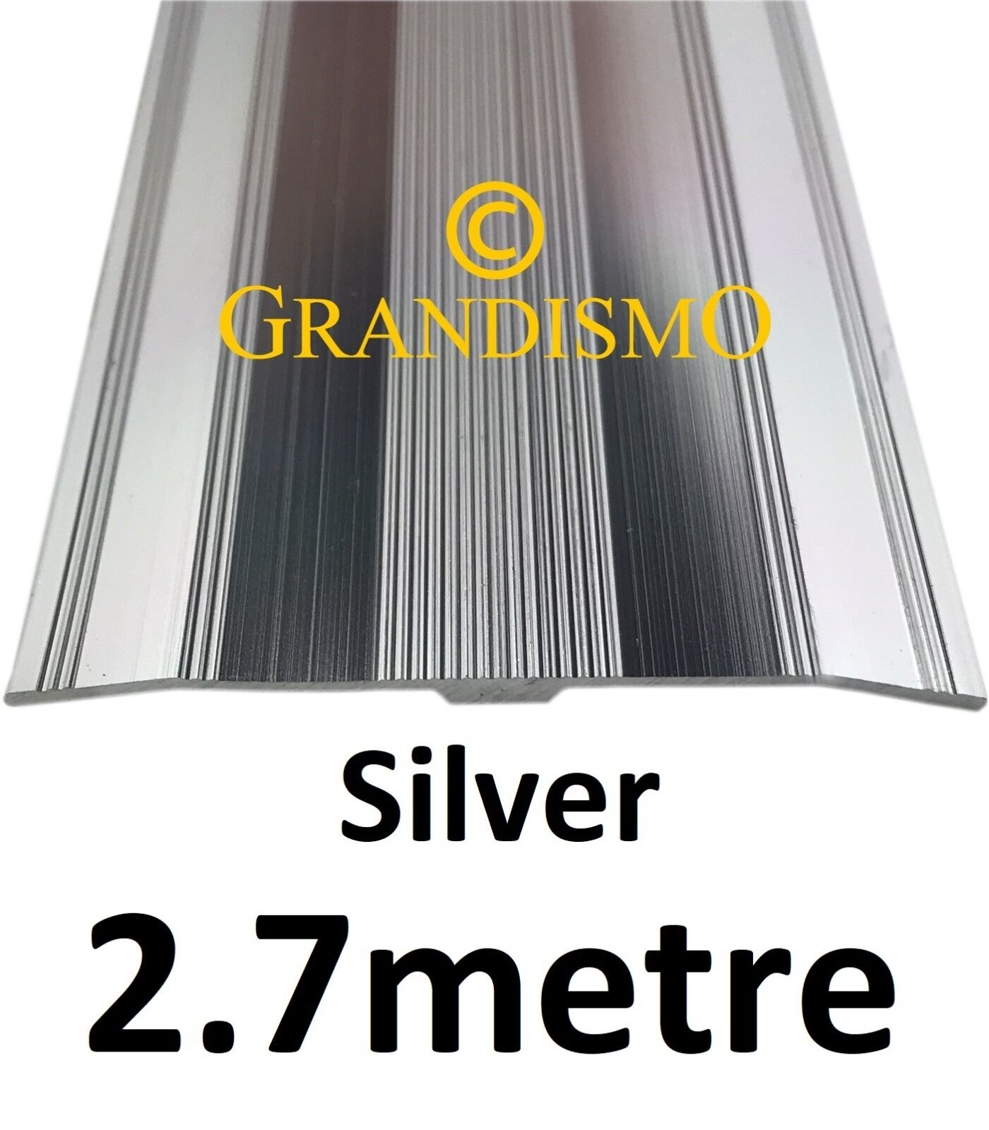 9ft LONG Door Bar Trim Threshold Metal Extra Wide 61mm Carpet Cover Strip