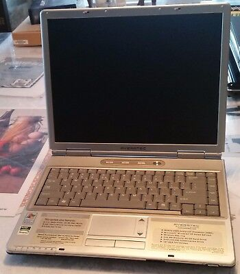 Averatec 550 Series laptop AS IS for PARTS/REPAIR only