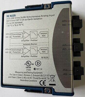 National Instruments Ni 9225 Cdaq Voltage Input Module 198862a-01l