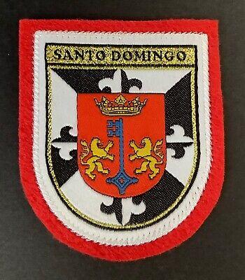 SANTO DOMINGO Souvenir Patch Ecusson Woven Badge SCUTELLIPHILY - 7,00 €