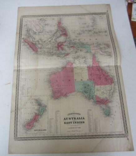 Original Old Antique - 1867 Johnson