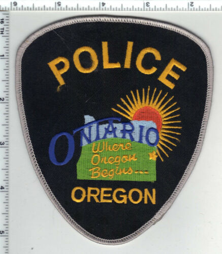 Ontario Police (Oregon) 3rd Issue Shoulder Patch