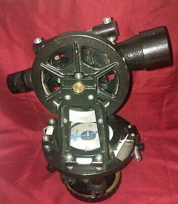 Vintage Lietz 115a Surveyors Transit With Compass Case