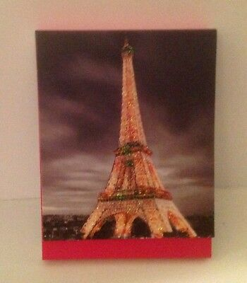 Paris Eiffel Tower Graphic Printed Pages 75 Page Small Travel Notepad