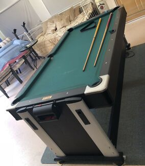 Pool table & air hockey, flips over