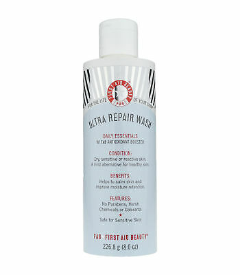 First Aid Beauty Ultra Repair Wash Daily Essentials 8.0Oz/226.8ml New for sale  Shipping to India