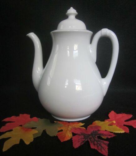 Antique English White Ironstone Teapot Meakin & Co 1870 Pristine!