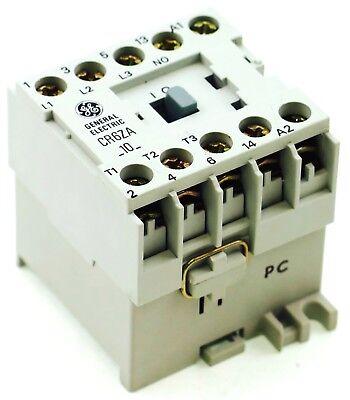 New Ge Miniature Din Rail Magnetic Contactor Cr6zal 24vdc Coil Ca4-5c-10-24d 1no
