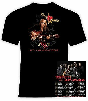 Tom Petty 2017 40Th Anniversary Concert T Shirt