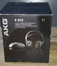 AKG K912 RECHARGEABLE WIRELESS HEADPHONES St Kilda Port Phillip Preview