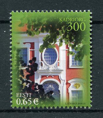 Estonia 2018 MNH Kadriorg Palace & Park 1v Set Trees Architecture Tourism Stamps