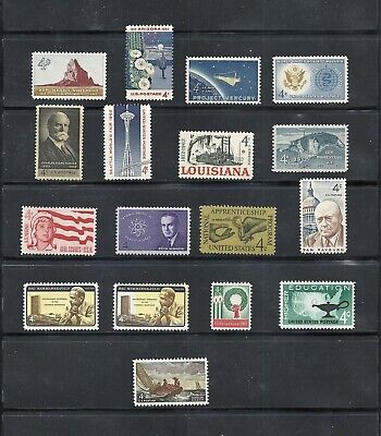 1962 - Commemorative Year Set - US Mint Stamps - LOW PRICES UNTIL SOLD OUT