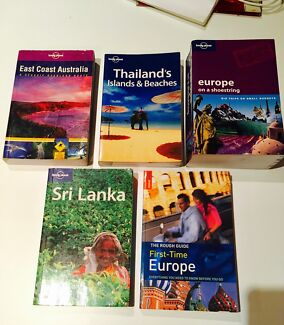 Lonely Planet travel guides