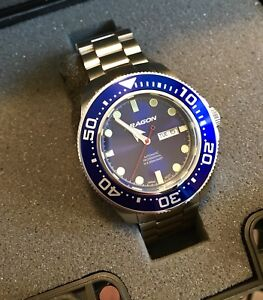 Brand new Aragon SeaKing 50mm automatic dive watch