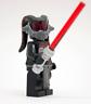 Lego Star Wars Custom Darth Talon Sith Old Republic Female Lethan Twi'lek Black