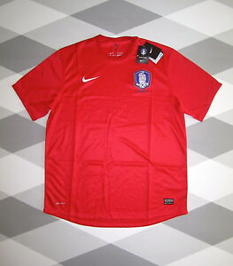 BNWT SOUTH KOREA HOME FOOTBALL SHIRT NIKE 2012/13 XL NEW WITH TAGS RARE