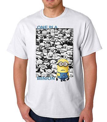 Minions T Shirt One In A Minion T Shirt Festival T Shirt Fun Novelty T Shirts ()