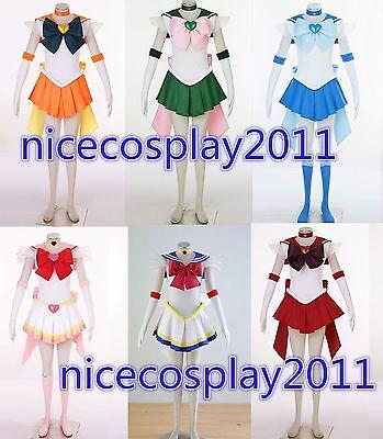 20% OFF Sailor Moon Mercury Mars Jupiter Venus Chibi Uranus Neptune Pluto Saturn - Sailor Moon Costumes