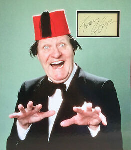 TOMMY COOPER Signed 17x15 Photo Display JUST LIKE THAT COA