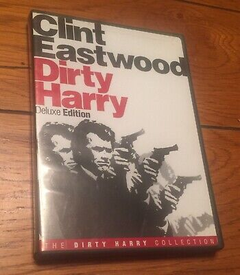 Dirty Harry DVD Deluxe Edition WITH ORIGINAL CASE & COVER ART