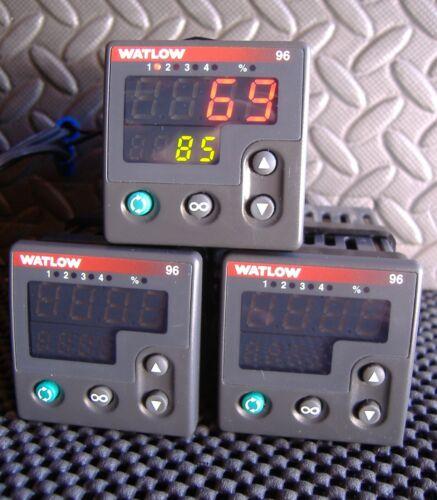 Watlow 96A0-CDAA-00RG TEMPERATURE CONTROLLER, 100-240 VAC