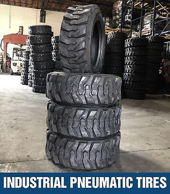 10-16.5 12pr Forerunner Skid Steer Loader Tires 4 Tires 10x16.5