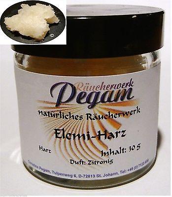 Feinstes Räucherharz: ELEMI-Harz (Canarium luzonicum), 50 g