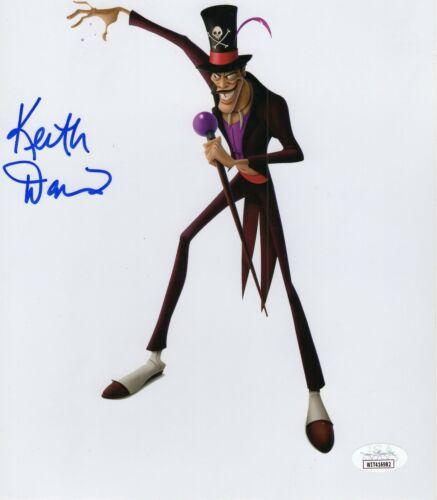 Keith David Autograph Signed 8x10 Photo - Princess and the Frog (JSA COA)
